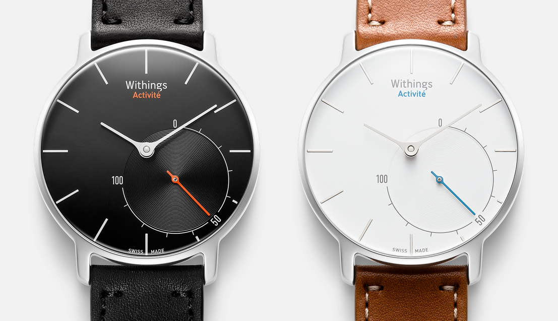 Withings Activité - analogt ur med smartwatch-funktioner