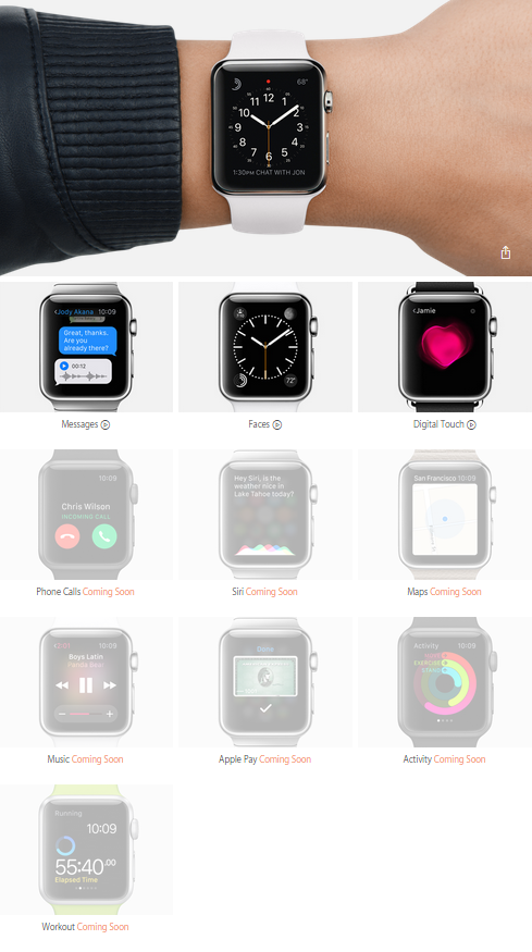 Guidede tour videoer til Apple Watch - Apples ur eller smartwatch